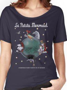 La Petite Mermaid (version2) Women's Relaxed Fit T-Shirt