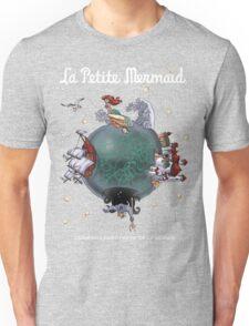 La Petite Mermaid (version2) Unisex T-Shirt