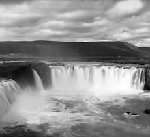 Godfoss falls,Iceland by leksele