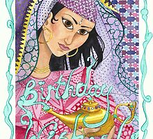 Birthday Genie in the Lamp (2010) by Bridget Curry