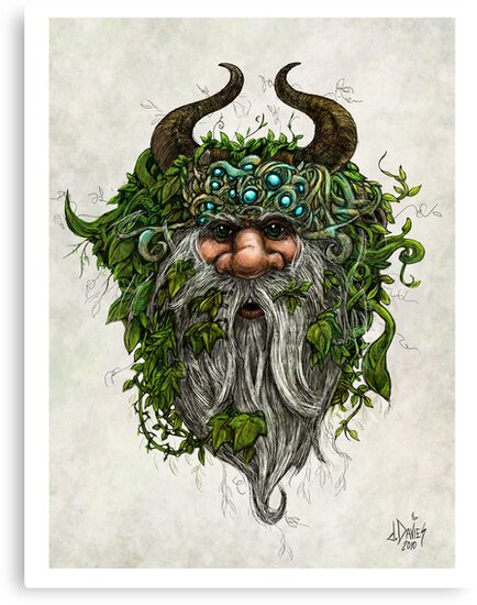 The Green Man by David Davies