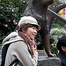 The statue of Hachiko by F.M. Gore-Kelly