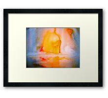 Landscape Abstract..Arctic Sun Framed Print