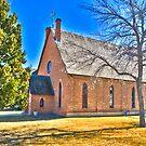 St. Paul's Episcopal Church, Fort Benton, Montana by Bryan D. Spellman