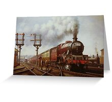 LMS Jubilee at Edge Hill Greeting Card