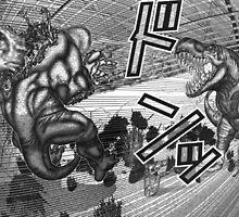 dinosaur fire ball by waj2000