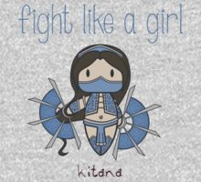 Fight Like a Girl - Mortal Kombat's Kitana Kids Clothes