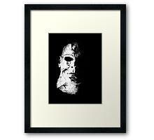 Face of Evil Framed Print