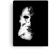 Face of Evil Canvas Print