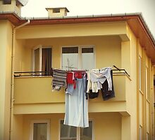 The washings at the balcony by rasim1