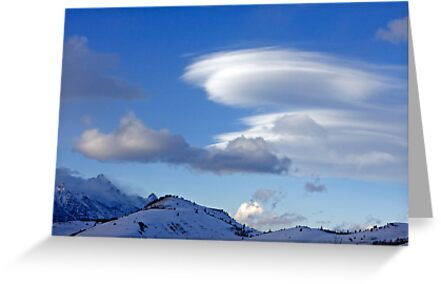 Wave Cloud Over Jackson Hole by A.M. Ruttle