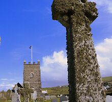 Cornwall: Boscastle - The Cross & The Church by Rob Parsons