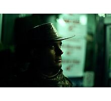 Copper Cowboy Photographic Print