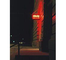 Iron Range Red Light District Photographic Print