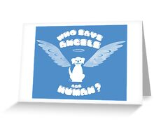 Little Angel Greeting Card