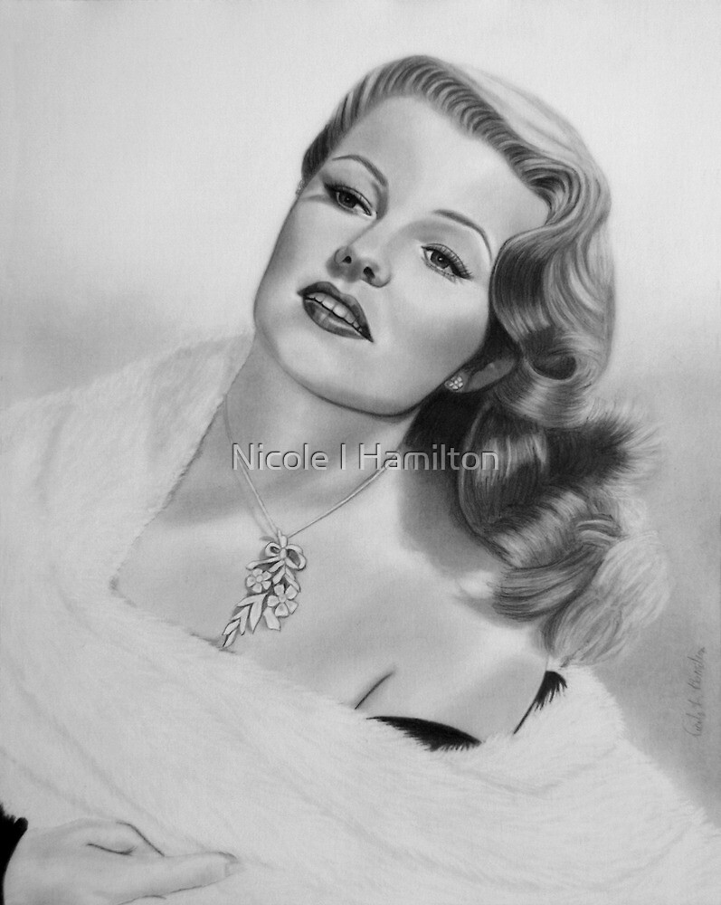 Rita Hayworth by Nicole I Hamilton