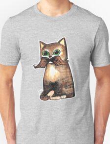 Mr. Whiskers: Moustache Cat Unisex T-Shirt