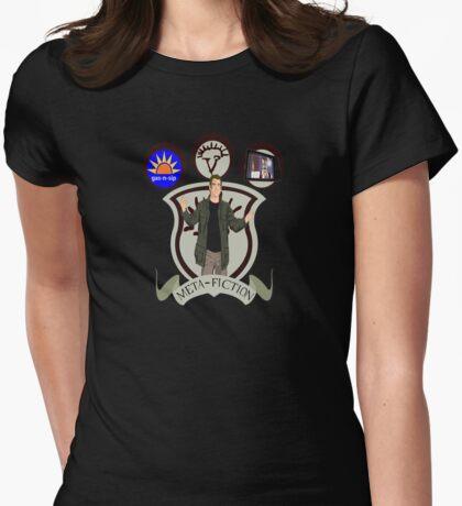 Meta-Fiction Gabriel Womens Fitted T-Shirt