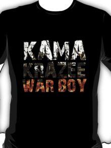Kamakrazee War Boy T-Shirt