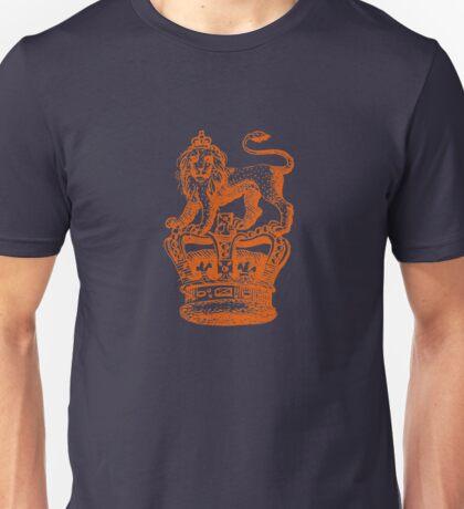 Lion & Crown Heraldry Blazon Unisex T-Shirt