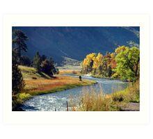 Chrystal River Art Print