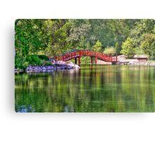 Pond Bridge (HDR) Metal Print