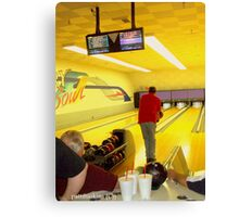 The Bowler Canvas Print