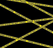 Crime Scene Do Not Cross by GhostMind