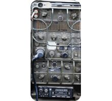 Vintage Military radio , US Army Signal corps , WWII iPhone Case/Skin
