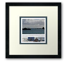 Ships that Pass - Poster &  Prints Framed Print