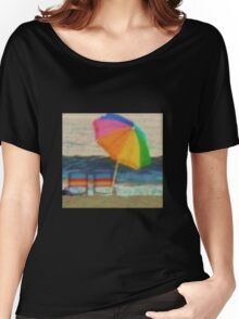 Summertime at the jersey shore Women's Relaxed Fit T-Shirt