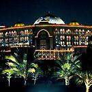Emirates Palace at night  by Tarek Solh