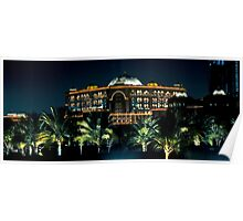 Emirates Palace at night  Poster