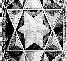 Geometric musings of the star pyramid  by Matthew Scotland