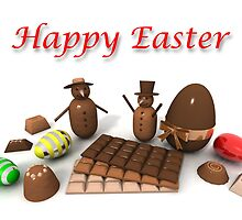 Happy Easter by jean-louis bouzou