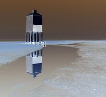 The Low Lighthouse, Burnham On Sea by wiggyofipswich