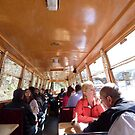 INSIDE THE TOUR CANAL BOAT by sueottaway