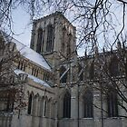 York Minster (side view) by Puddlejumper9