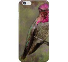 Anna's Hummingbird iPhone Case/Skin
