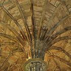 Chapter House Domed Ceiling at Elgin by lezvee