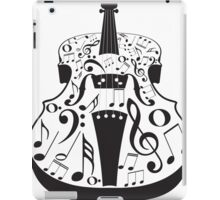 Perspective Violin with Notes iPad Case/Skin
