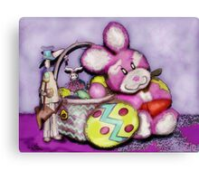 HaPpy  HaPpy EAsTeR !  Canvas Print
