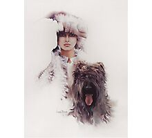 """""""Diana"""" Oil On Canvas Photographic Print"""