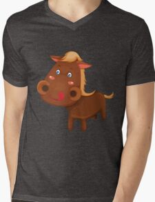 Little cute pony Mens V-Neck T-Shirt