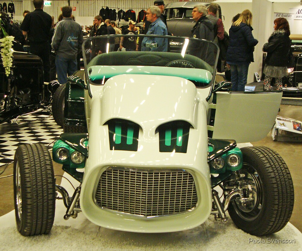 Cool hot rod by Paola Svensson