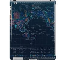 Atlas zu Alex V Humbolt's Cosmos 1851 0148 Earth Geological Map Inverted iPad Case/Skin