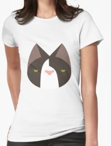 Old grumpy cat Womens Fitted T-Shirt
