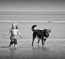 Fetching.... by Karen  Helgesen