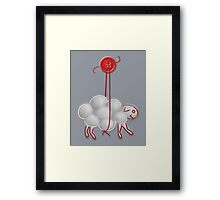 Button Sheep - Bourgeois Framed Print