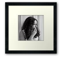 Agatha Framed Print
